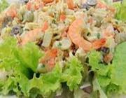 Salada de Maionese com Camarão