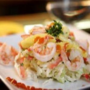 Receita de Salada de Manga com Camarões