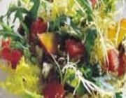 Salada de melancia com ricota