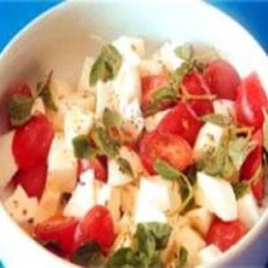 Receita de Salada de Mussarela de Búfala