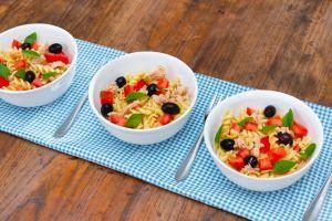 Receita de Salada de Parafuso com Atum