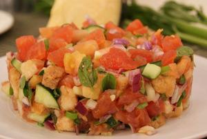 Receita de Salada de Pão - Panzanella Alla Toscana