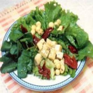 Receita de Salada de tomate seco e provolone