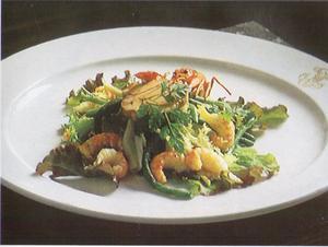Receita de Salada de Vagem com Camarão