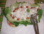 Salada de Maionese com Legumes