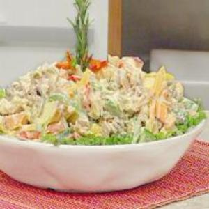 Receita de Salada Mamãe Noel