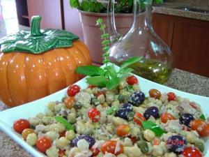 Receita de Salada Mediterrânea