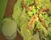 Salada Refrescante com Merluza