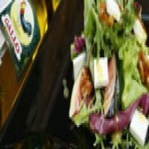 Receita de Salada Verde com Figos Assados e Queijo de Cabra