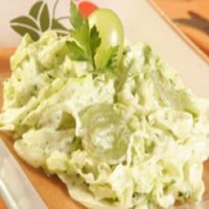 Receita de Salada verde de microondas