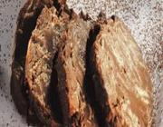 Salaminho de chocolate com framboesas