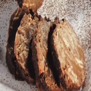 Receita de Salaminho de chocolate com framboesas