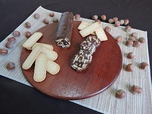 Receita de Salaminho de Chocolate