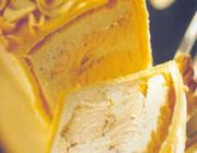 Salmão em crosta perfumado com laranja e zimbro