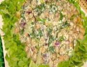 Salpicão de grão-de-bico