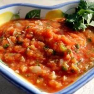 Receita de Salsa Mexicana de Tomate Assado