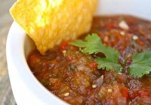 Receita de Salsa Tipo Mexicana (Vegana)