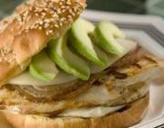 Sanduíche de Frango na Churrasqueira