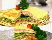 Sanduíche de Omelete do Mais Você