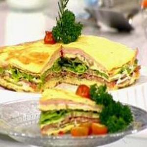 Receita de Sanduíche de Omelete do Mais Você