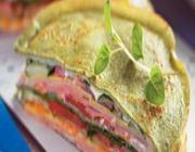 Sanduíche de Panqueca