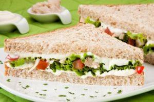 Receita de Sanduíche Vegetariano