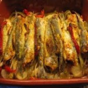 Receita de Sardinhas ao forno