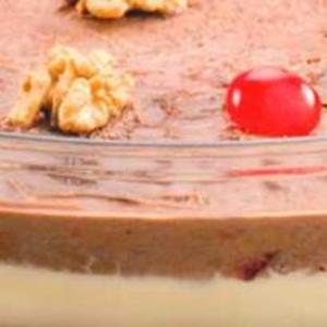 Receita de Semifredo de Creme e Chocolate