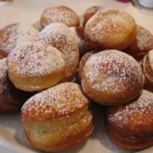 Receita de Sonhos recheados (para de máquina de pão)
