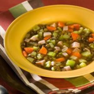 Receita de Sopa alemã de lentilha