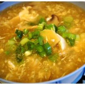 Receita de Sopa chinesa de frango (Hot & Sour)
