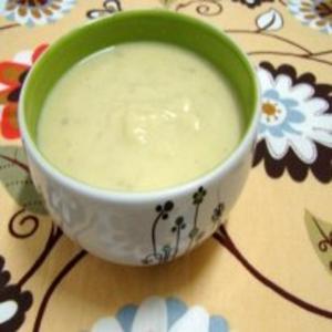 Receita de Sopa creme de couve-flor