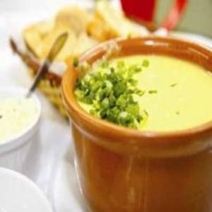 Receita de Sopa creme de frango