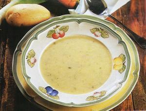 Receita de Sopa Creme de Legumes