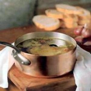 Receita de Sopa de Azeitona e Pão