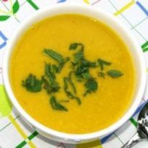 Receita de Sopa de Cenoura Saudável