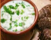 Sopa de Inhame e Carne Moída