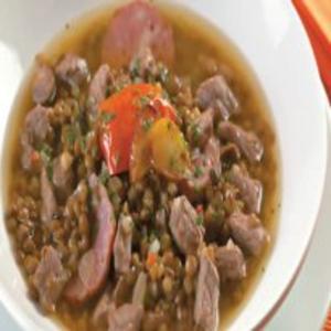 Receita de Sopa de Lentilha Picante