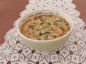 Receita de Sopa de Letrinhas