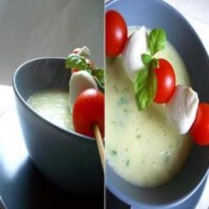 Receita de Sopa de Manjericão e Batata