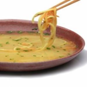 Receita de Sopa de missô com noodles