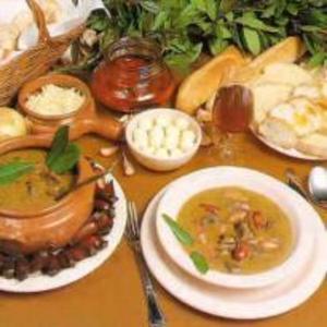 Receita de Sopa de Pinhão