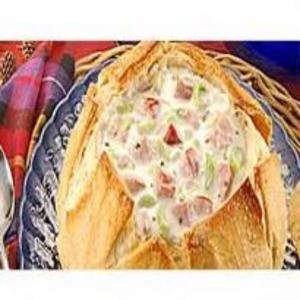 Receita de Sopa no Pão Italiano
