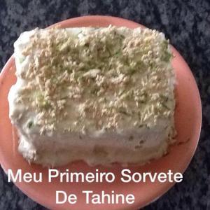 Receita de Sorvete de Tahine