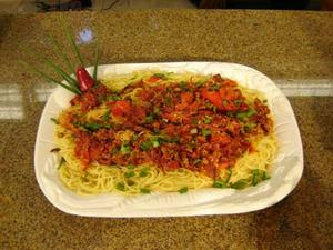 Receita de Spaghetti a Lampião