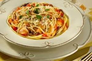Receita de Spaghetti ao Molho de Shiitake