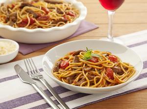 Receita de Spaghetti com Cordeiro e Ervas