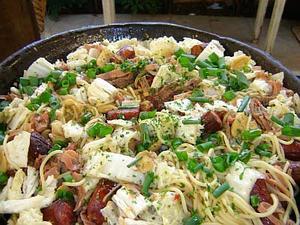 Receita de Spaghetti malaio
