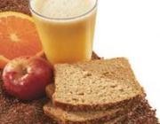 Suco de laranja com maçã com linhaça