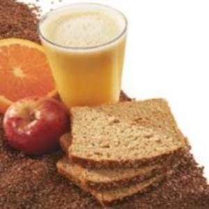 Receita de Suco de laranja com maçã com linhaça